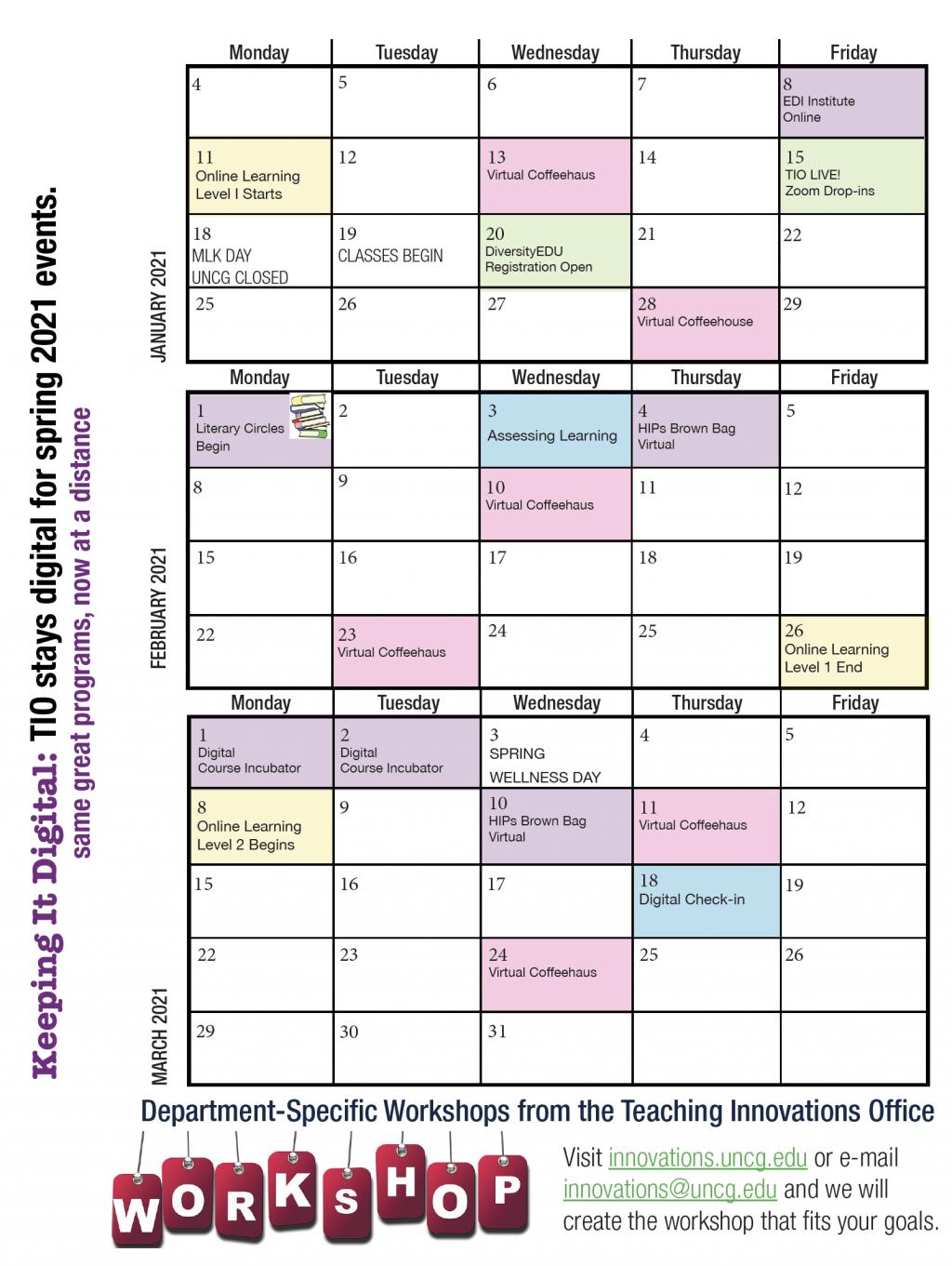 Uncg Calendar 2021 Photos